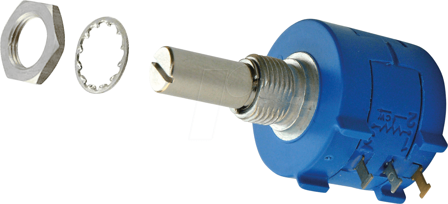 BOU 3590S6103L - Wirewound Potentiometer, 10 kOhm, linear, 6 mm