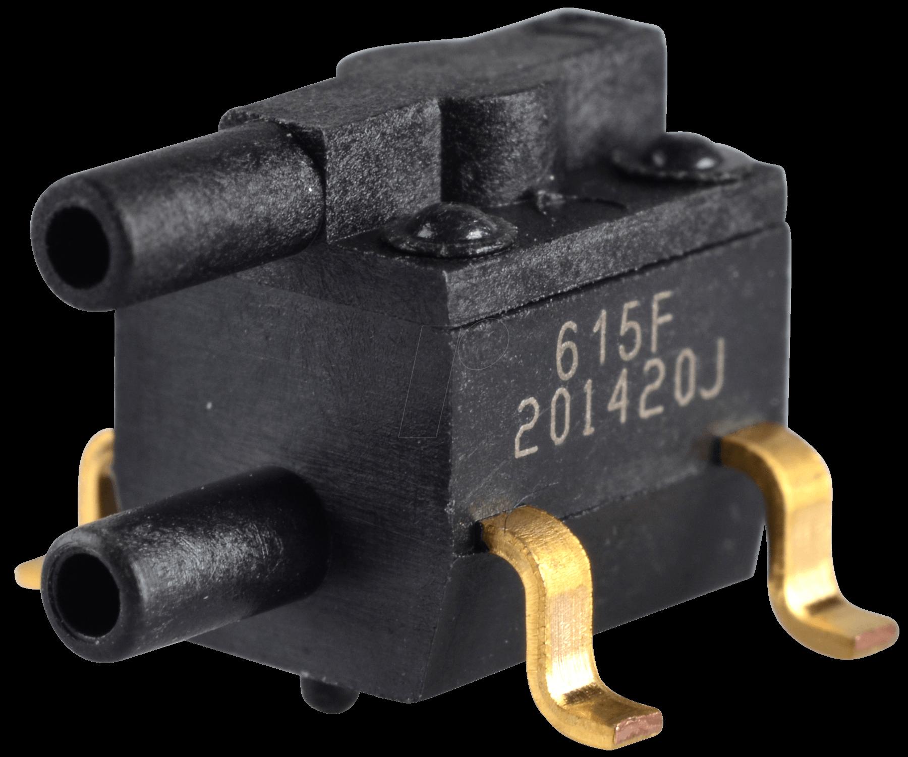 26 PC15 SMT - Differenzdrucksensor, SMD, relativ, ± 15 psi