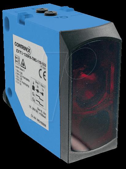 DTL C55PA TMS502 - Laser-distance measurement, 100 - 5 000 mm, 4 - 20 mA
