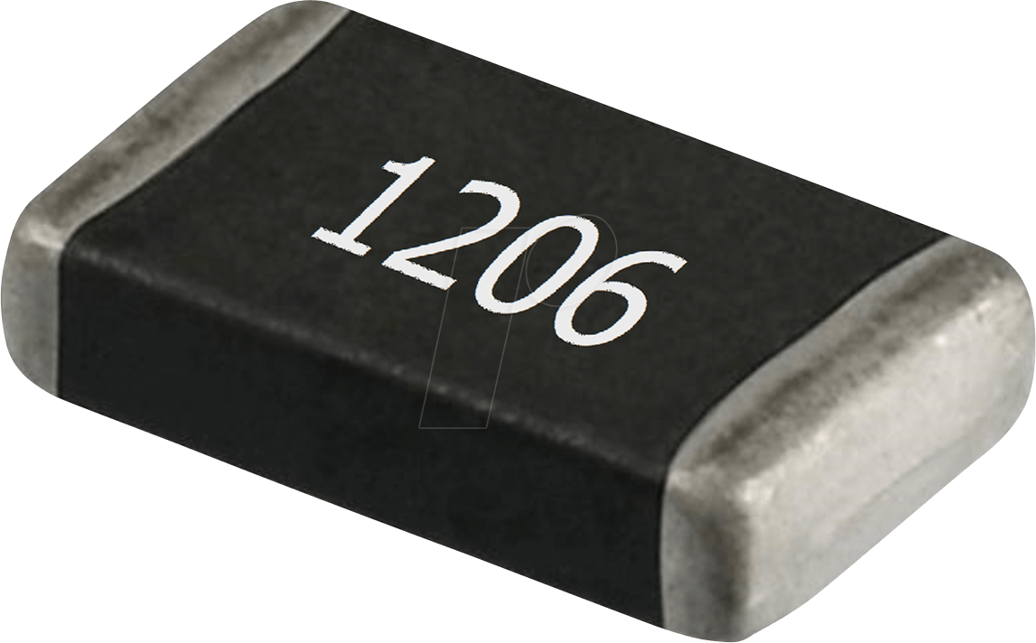 SMD Resistor 1206, 0,0 Ohm, 250 mW, 1% RND COMPONENTS