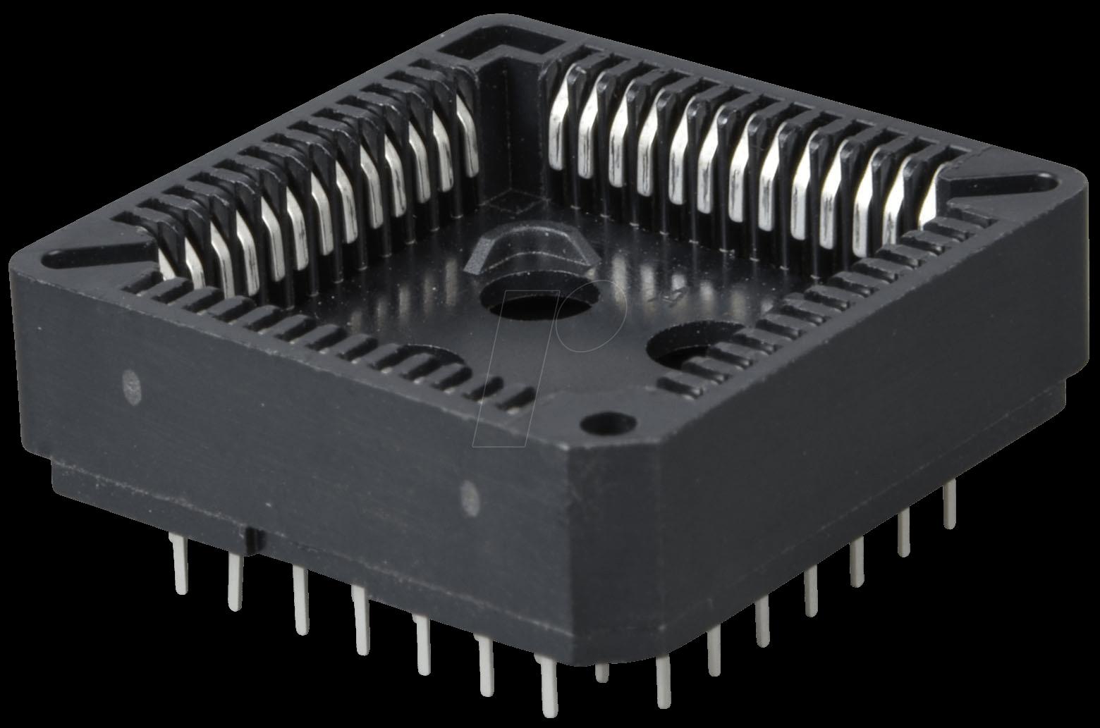 Plcc 52 Ic Socket 52 Pin Plcc At Reichelt Elektronik