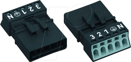 890-215 - WINSTA® MINI Stecker, 5 polig