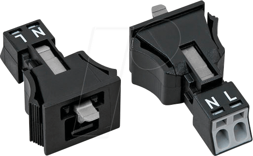 890-712 - WINSTA® MINI Stecker, 2 polig