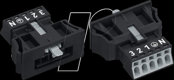890-715 - WINSTA® MINI Stecker, 5 polig