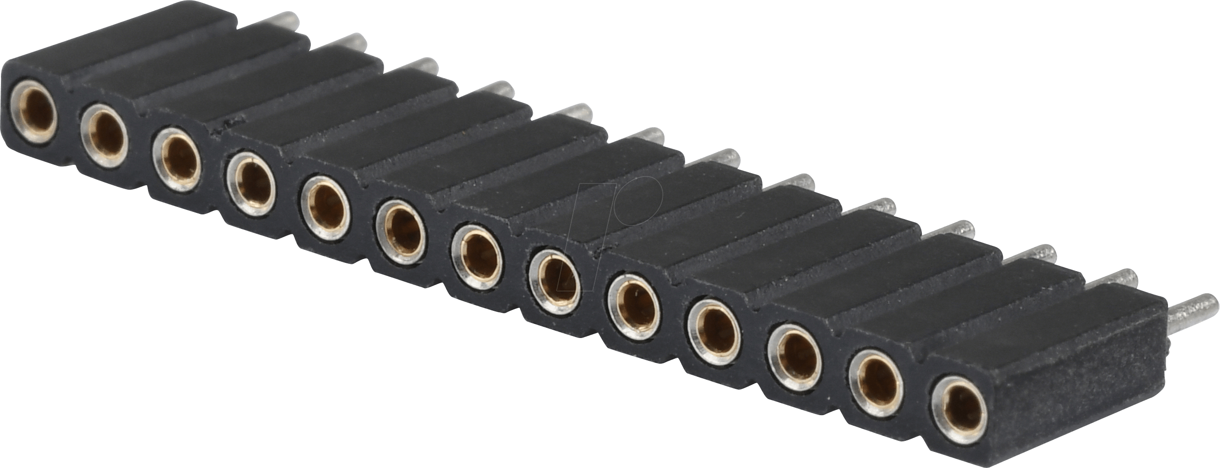 MPE 115-1-013 - Präz.-Buchsenleisten 2,54 mm, 1X13, gerade
