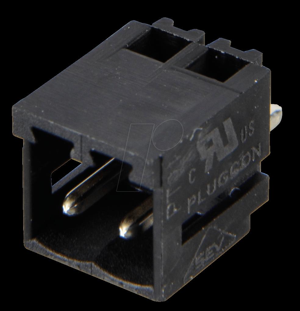 AKL 183-02 - Wannenstecker für AKL 169, 2-pol, RM3,5
