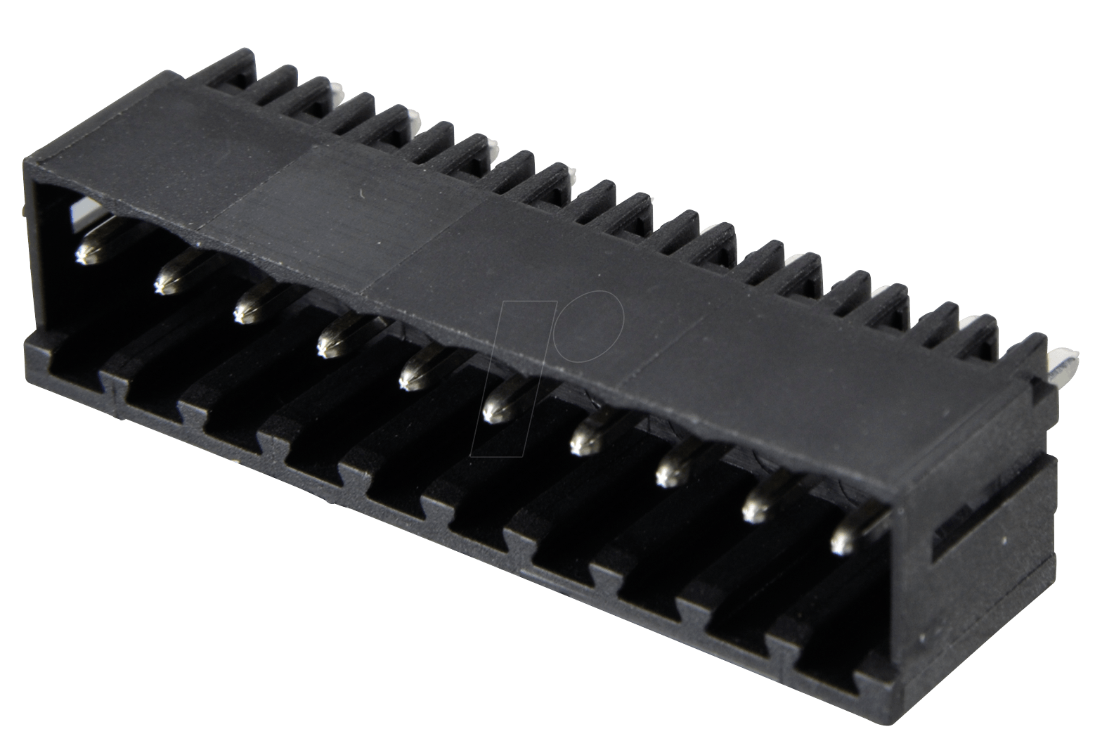 AKL 183-10 - Box connector for AKL 169, 10-pin, spacing 3 5