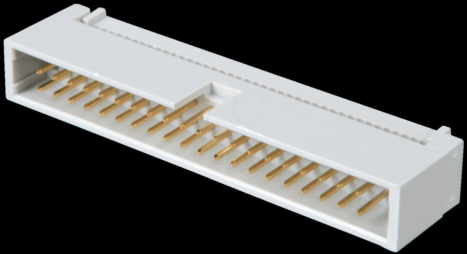 wsl 40sk wannenstecker 40 polig schneidklemmtechnik bei reichelt elektronik. Black Bedroom Furniture Sets. Home Design Ideas
