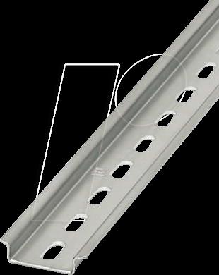 NS 35X7,5 250 - Hutschiene, 35 x 7,5 , 250 mm