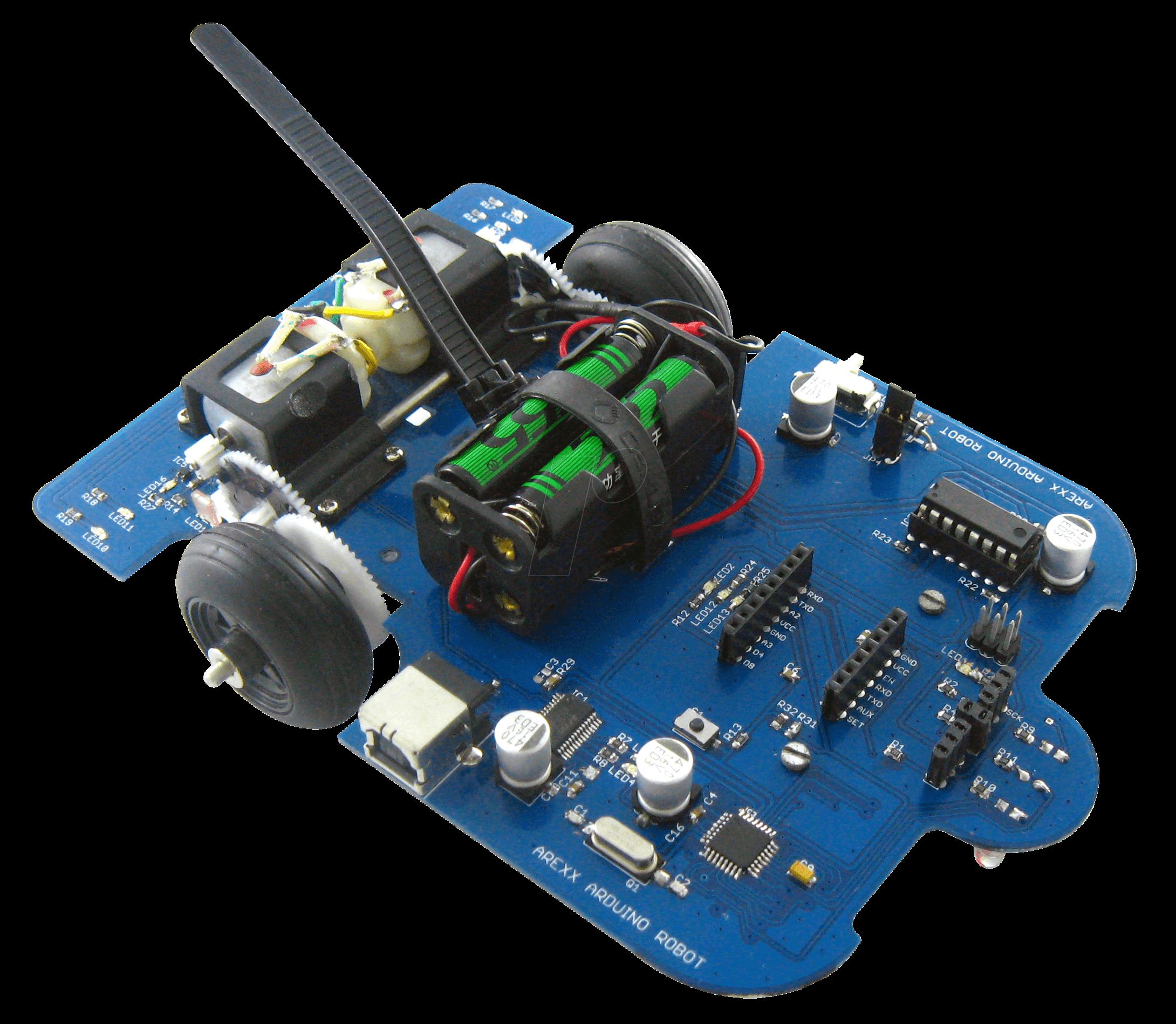 Arx aar arexx arduino roboter system bei reichelt