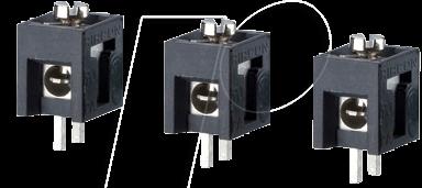 LSK 291 - Schraubklemme, 1-pol, Ø 2 mm