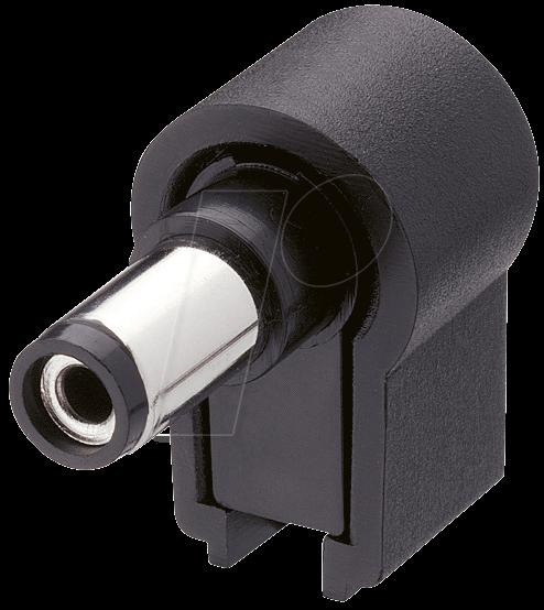LUM NES 21W - Hohlstecker ohne Knickschutz, Ø außen: 5,5 mm, Ø innen: 2,1 mm