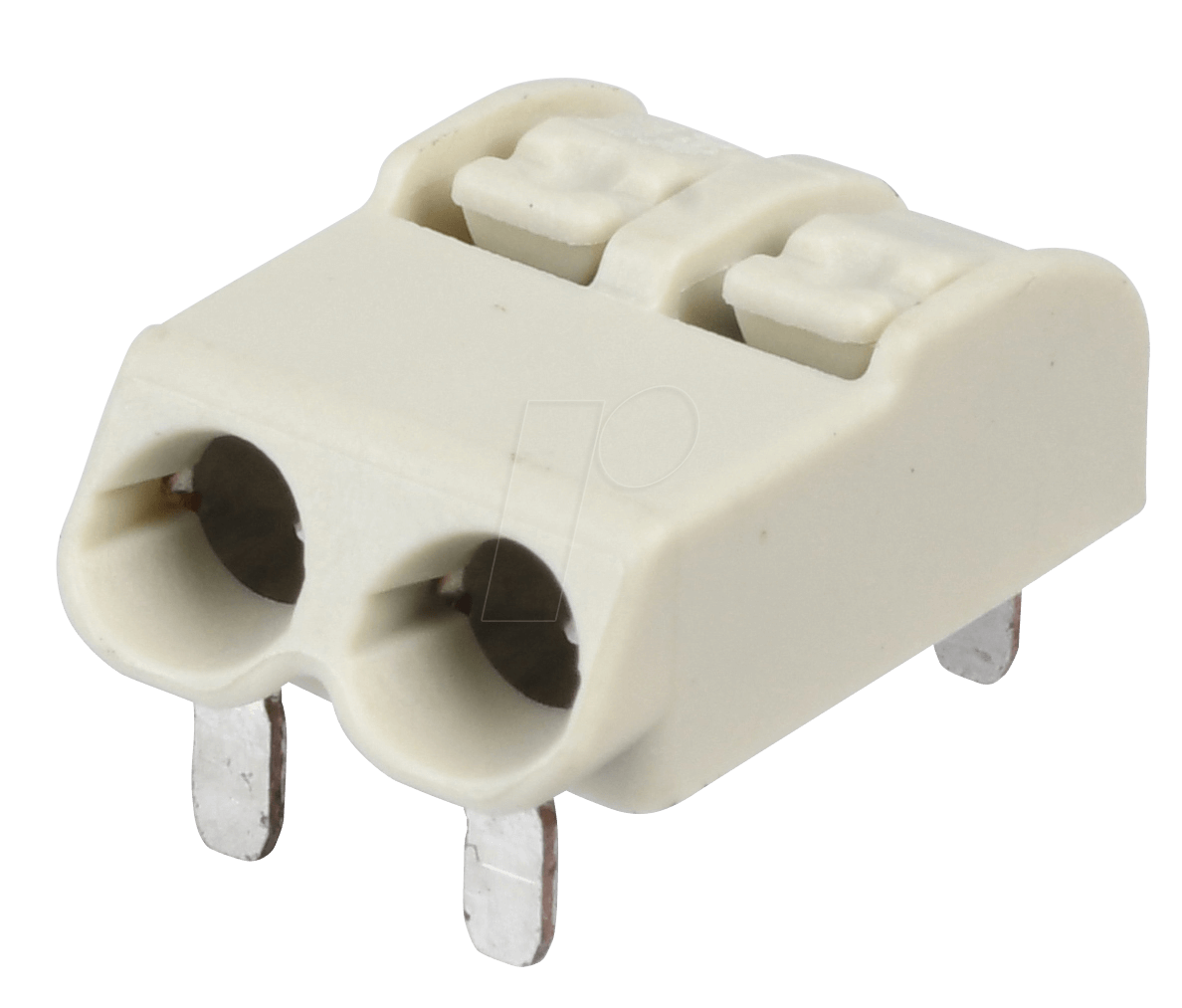 WAGO 2060-1402: THR-pcb-terminal, 2-pole, RM 4 mm, white at reichelt ...