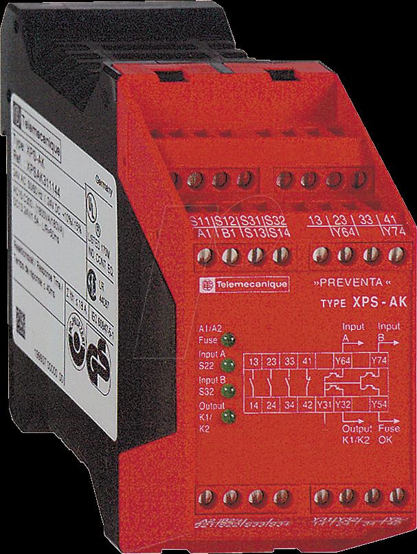 Brand New Schneider Electric XPSAK311144 Module for Emergency Stop