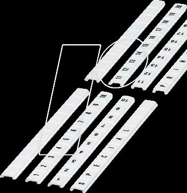 ZBF8 BLANK - Zackband, 8 mm, blank