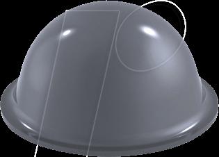 RND 455-00502 - Stoßfänger, selbstklebend, Ø 19 mm, grau