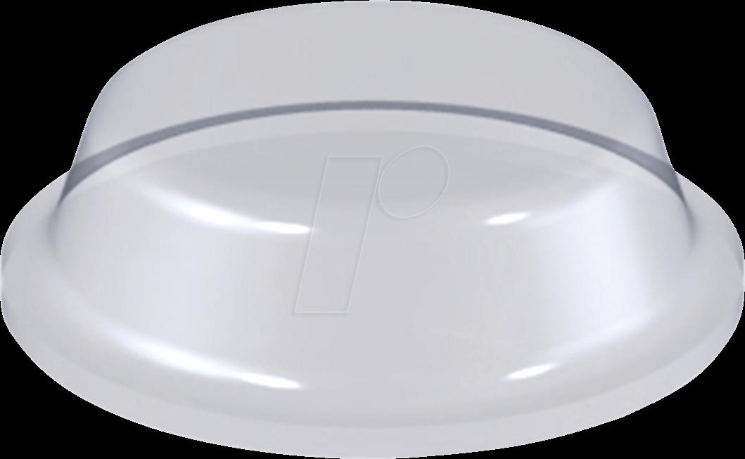 RND 455-00507 - Stoßfänger, selbstklebend, Ø 12,7 mm, klar