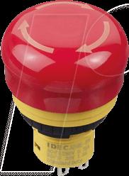 ID AB6E3BV02PRM - Not-Aus-Schalter X6, 30 mm, 2 NC