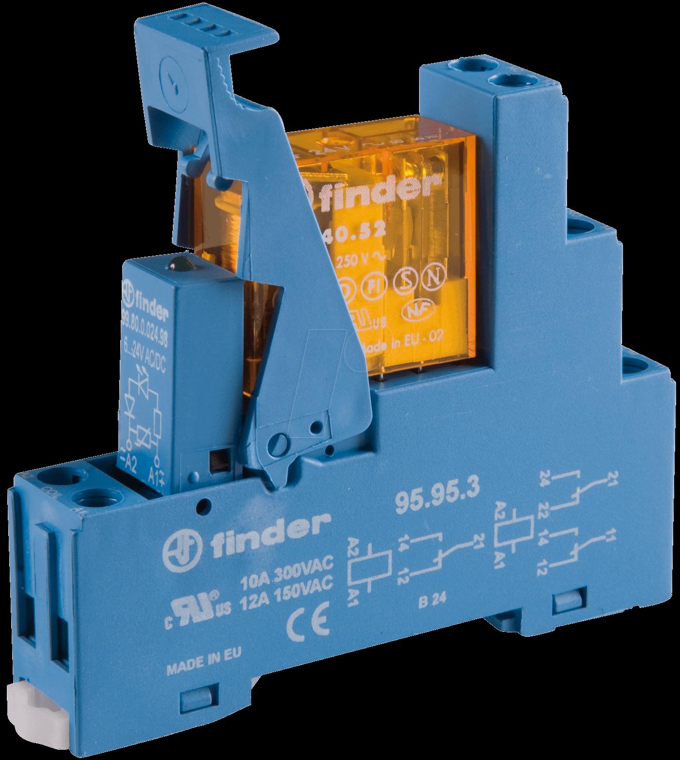 relais finder 24v