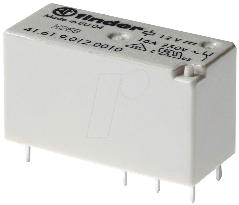 FIN 41.61.6W 24V - Printrelais - bistabil, 1 Wechsler, 24 V DC