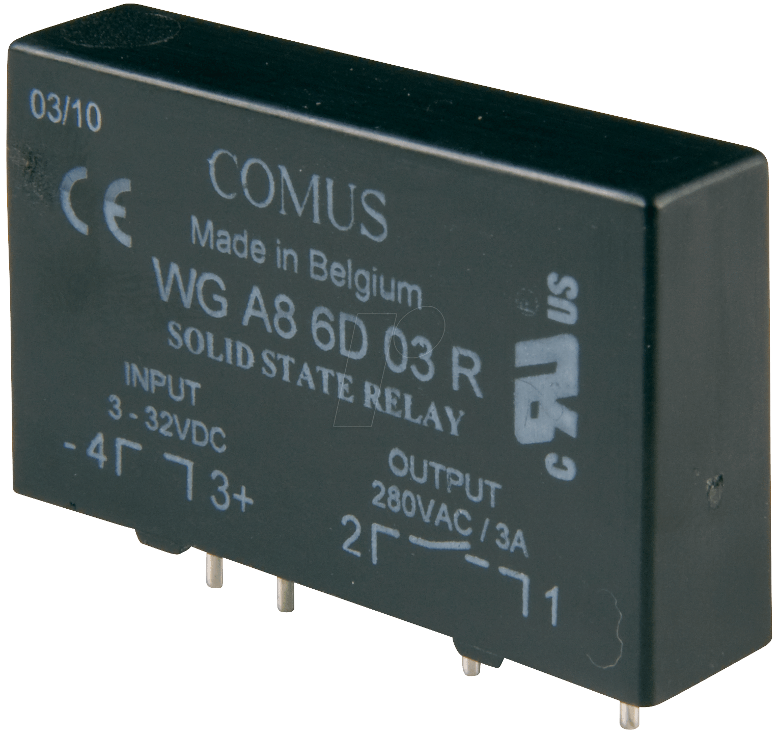 Wga 8 6d03 Solid State Relays Vctrl 3 32 V Dc Vload24 420 Relay Working