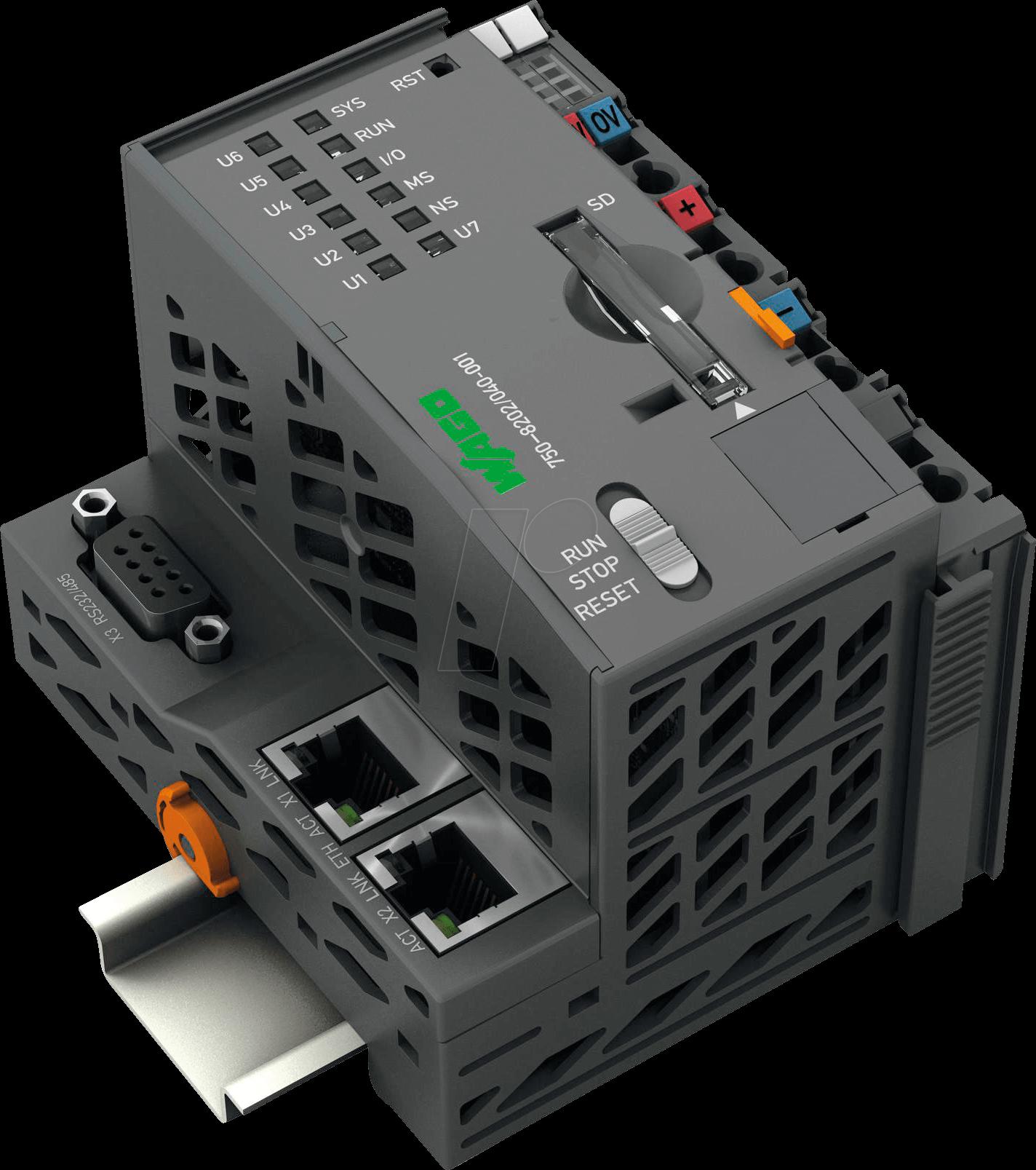 WAGO 750-8202-40 - PLC - Controller PFC200 XTR