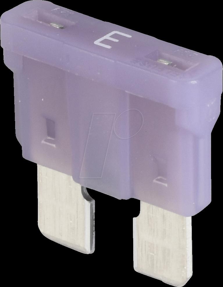 LITT 0287003 - Automotive Fuse ATO 3A 32VDC violet