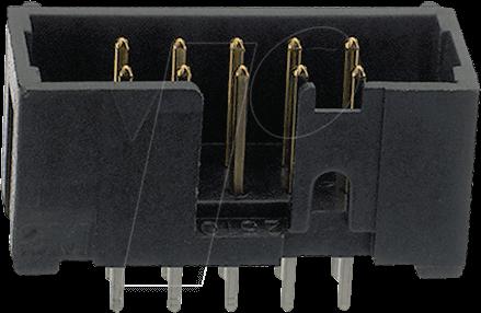 3M N25146002RB - Stifftleiste, 14 pol, Stifte, DIN 41651
