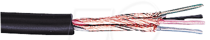 ML 408-10 - Mikrofonleitung, 4x0,08mm², rund, 10m-Ring