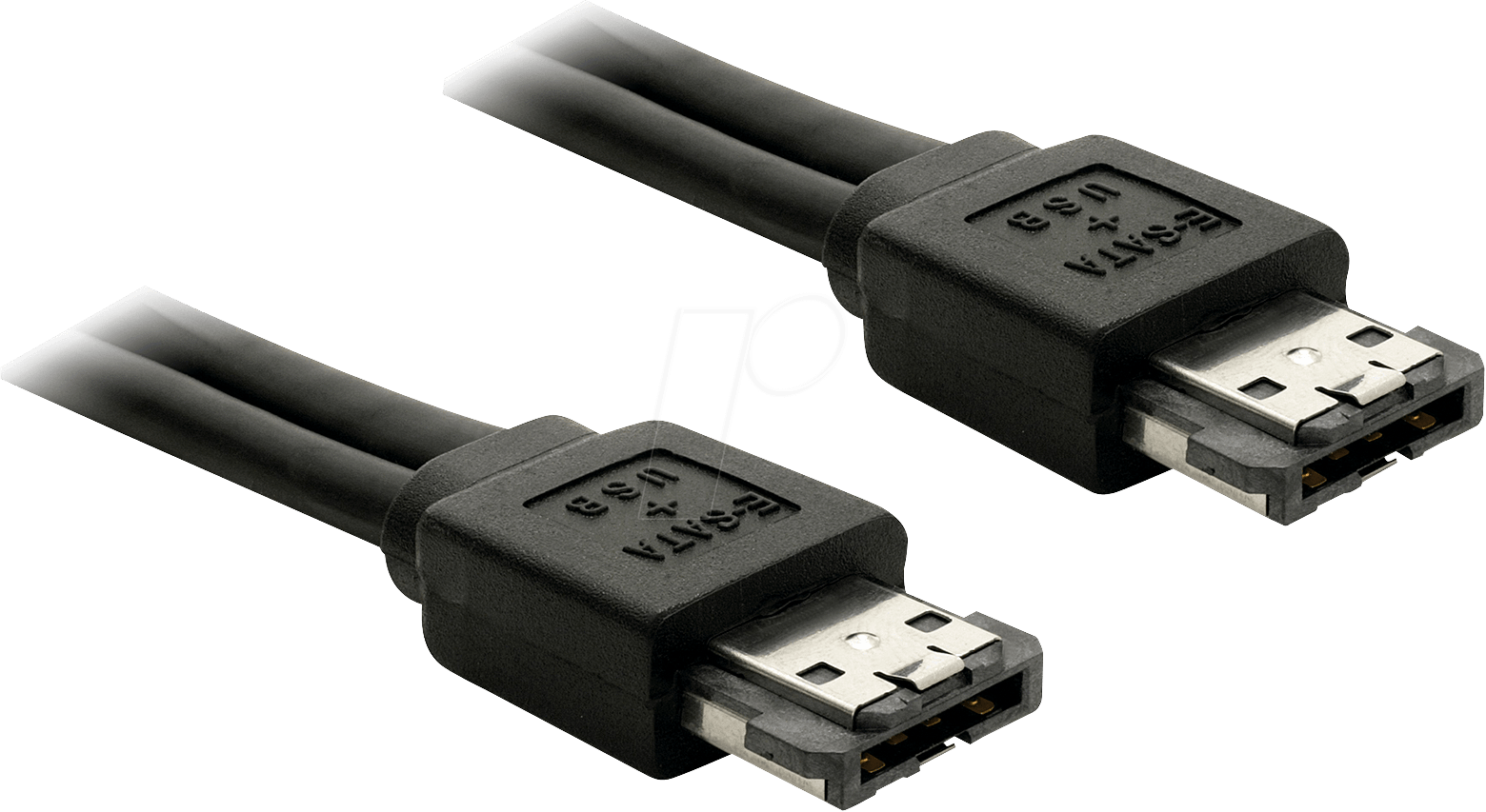 DELOCK 84386: Power Over eSATA Kabel Stecker-Stecker 1m bei reichelt elektronik