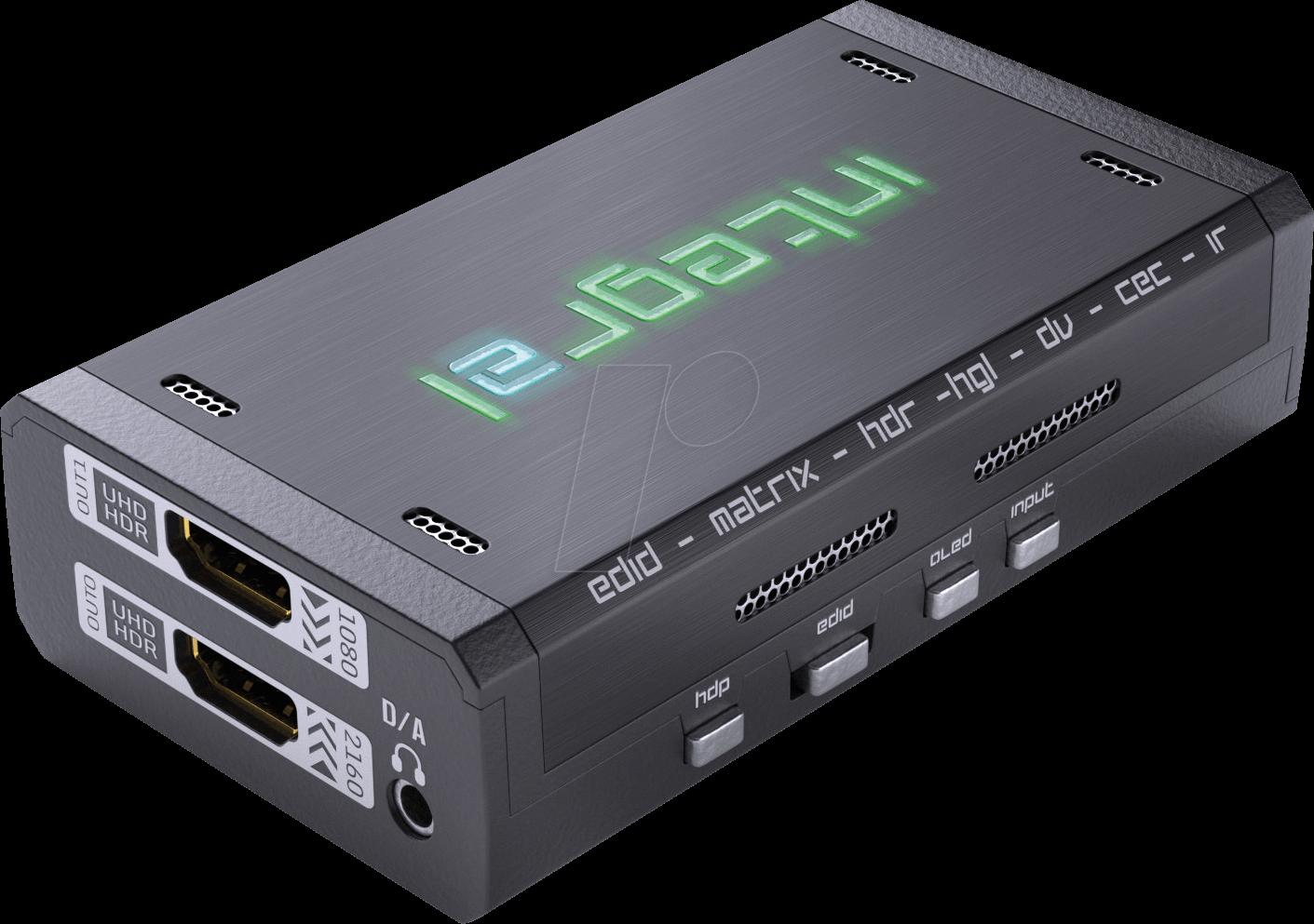 HDF 0120 - HDFury 4K Integral 2, HDMI Splitter/Switcher