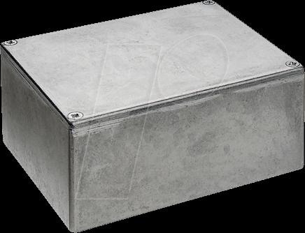 11451PSLA - Alugehäuse, 52,4 x 38,1 x 31 mm, matt
