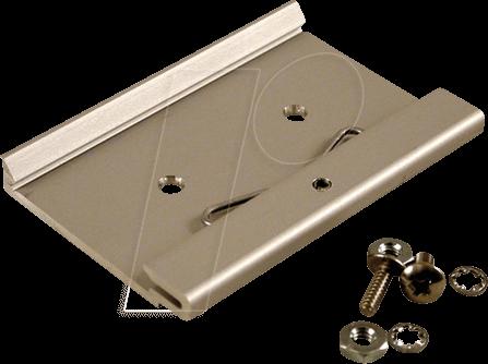 1427DIN75M - Befestigungsclip, Aluminium, 75 x 8 x 51 mm