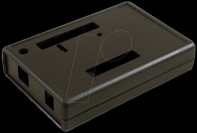 Uno sw arduino housing black at reichelt elektronik