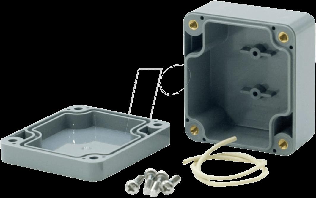 RND 455-00206 - Kunststoffgehäuse, 64 x 58 x 35 mm