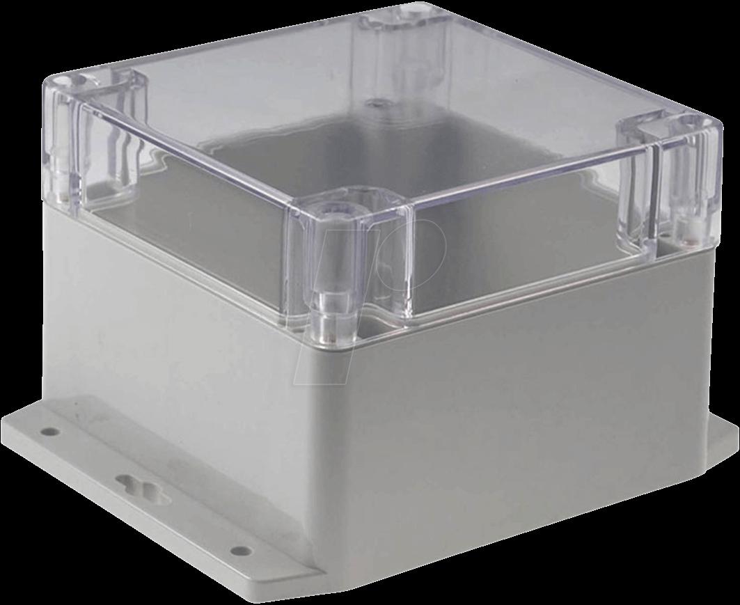 RND 455-00268 - Kunststoffgehäuse, 120 x 120 x 90 mm, IP65