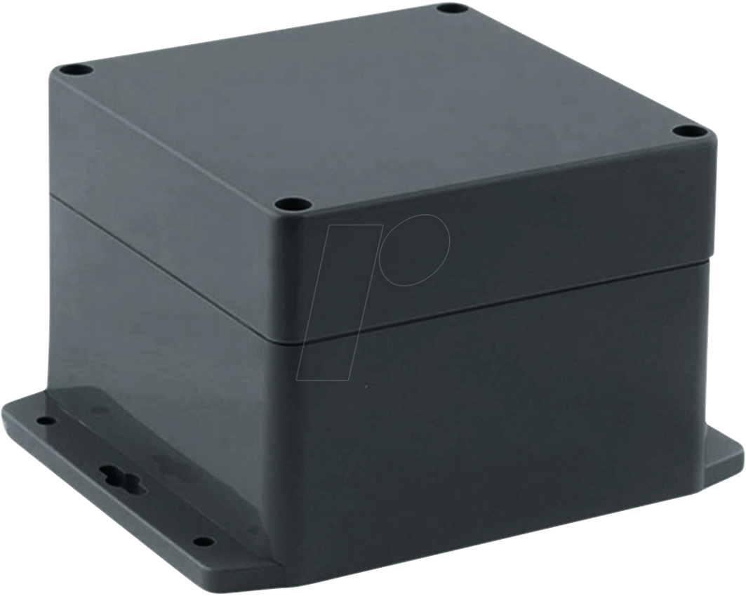 RND 455-00274 - IP65 RATING ABS BOX WITH MOUNTING FLANGE