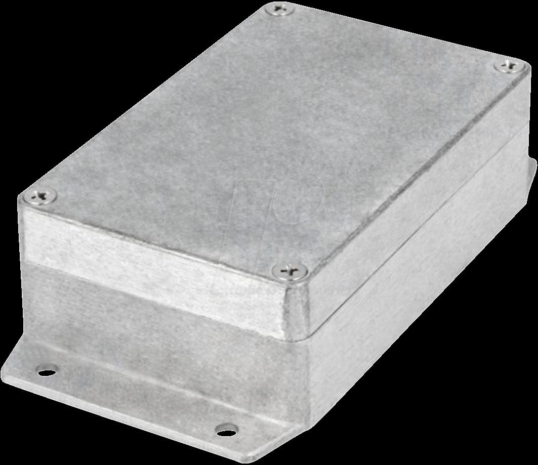 RND 455-00423 - Alugehäuse, 125 x 40 x 80 mm, silber, IP65