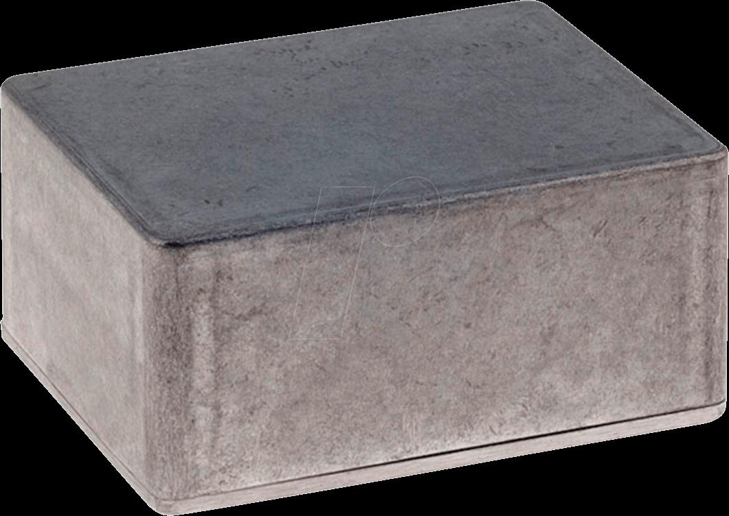 RND 455-00705 - Alugehäuse, 49,3 x 86,2 x 111,5 mm, aluminium
