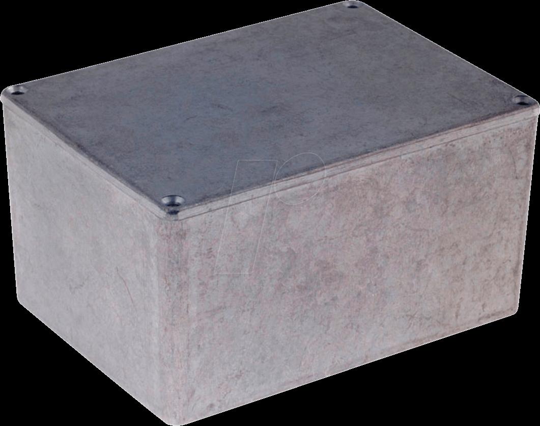 RND 455-00707 - Alugehäuse, 69,8 x 97,5 x 135 mm, aluminium