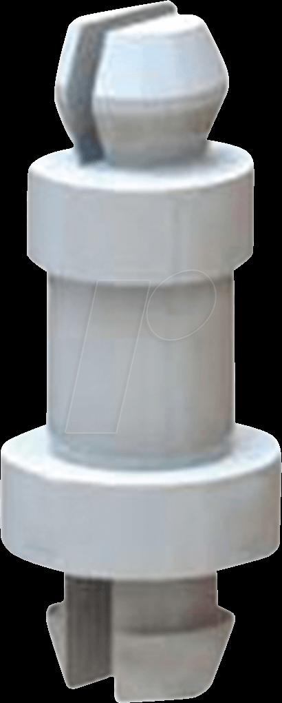 RND 610-00274 - Mini-Trägerpfosten, Kunststoff, 28,6 mm, 50er-Pack