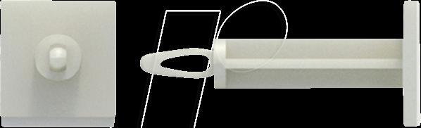 RND 610-00145 - Mini-Leiterplattenhalter, Kunststoff, 25,4 mm, 50er-Pack