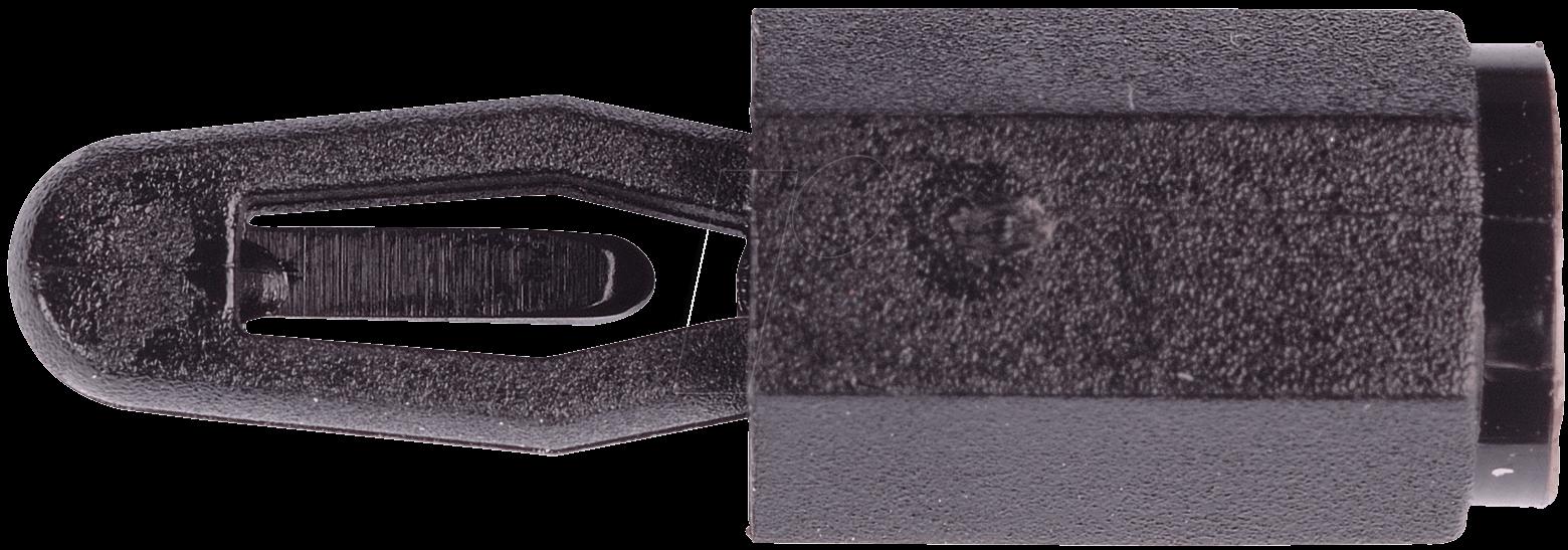 DKR 8MM - Distanzbolzen, Rastbefestigung außen, M3, 8mm