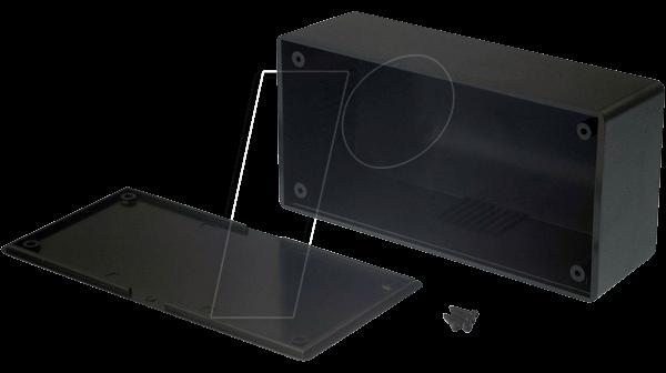 RND 455-00096 - Kunststoffgehäuse, 129 x 64 x 44 mm