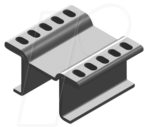 V FK 251-08 LFP - Kupferkühlkörper für LF PAK, 15x13x8mm