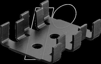 FK 210/SA-CB - Kühlkörper, 30 mm, Alu, 18 K/W, SOT-32/TO-220