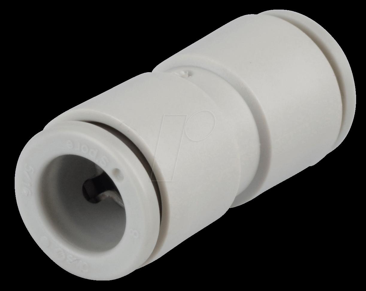 KQ2H08-00A - Steckverbindung, gerade, Ø 8 mm   Ø 8 mm