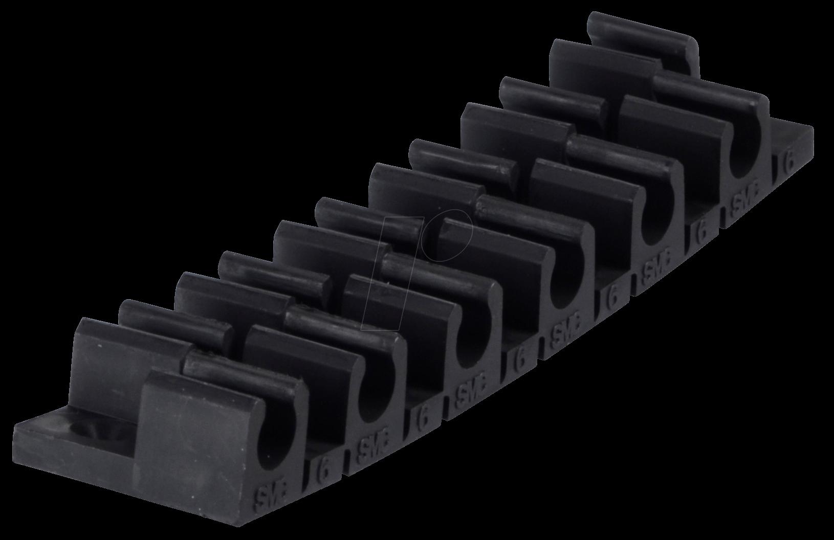 TM-06 - Klemmleiste für 12 Schläuche 6 mm