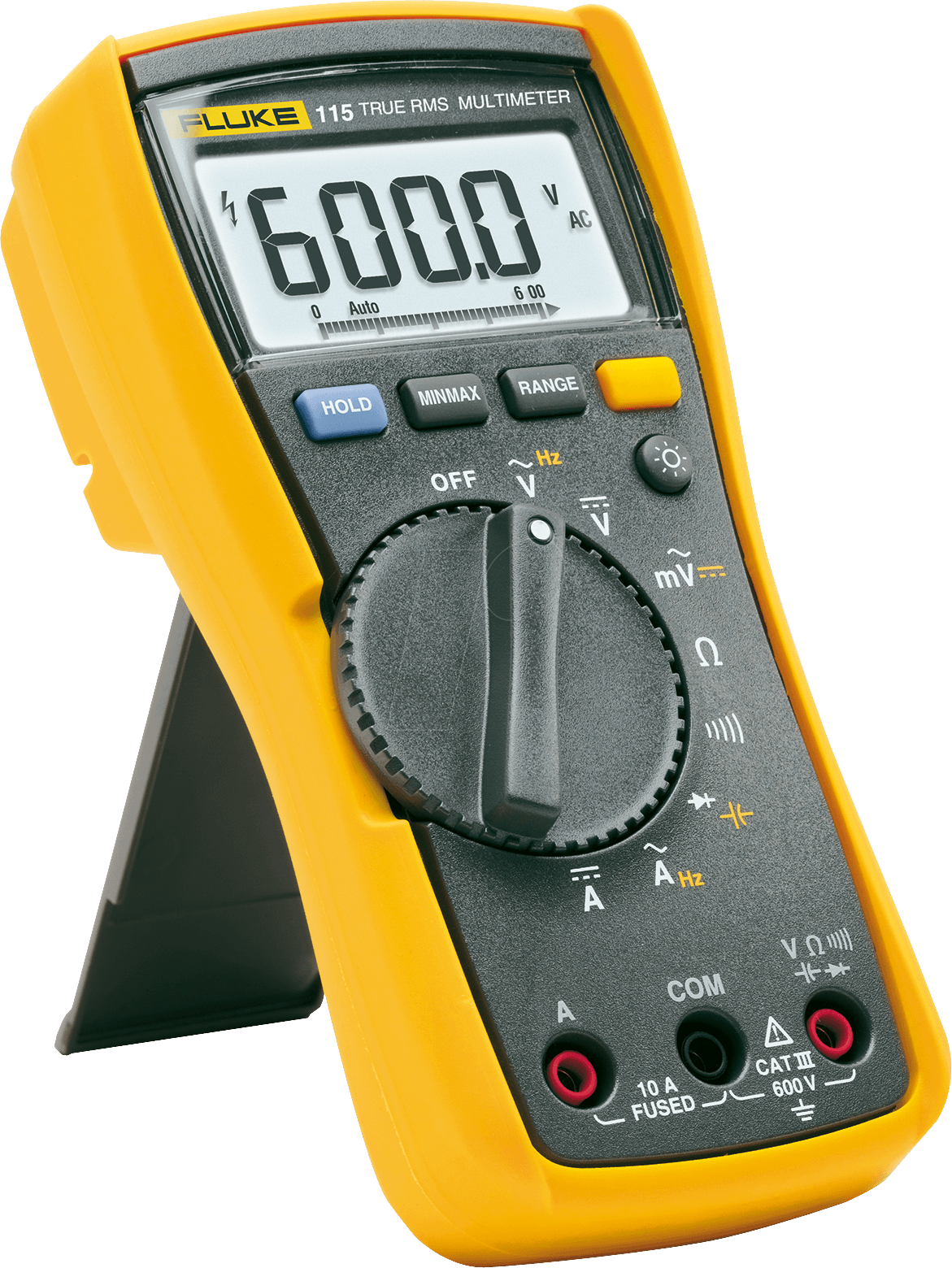 Fluke Voltmeter Tester : Fluke digital handheld multimeter at reichelt elektronik