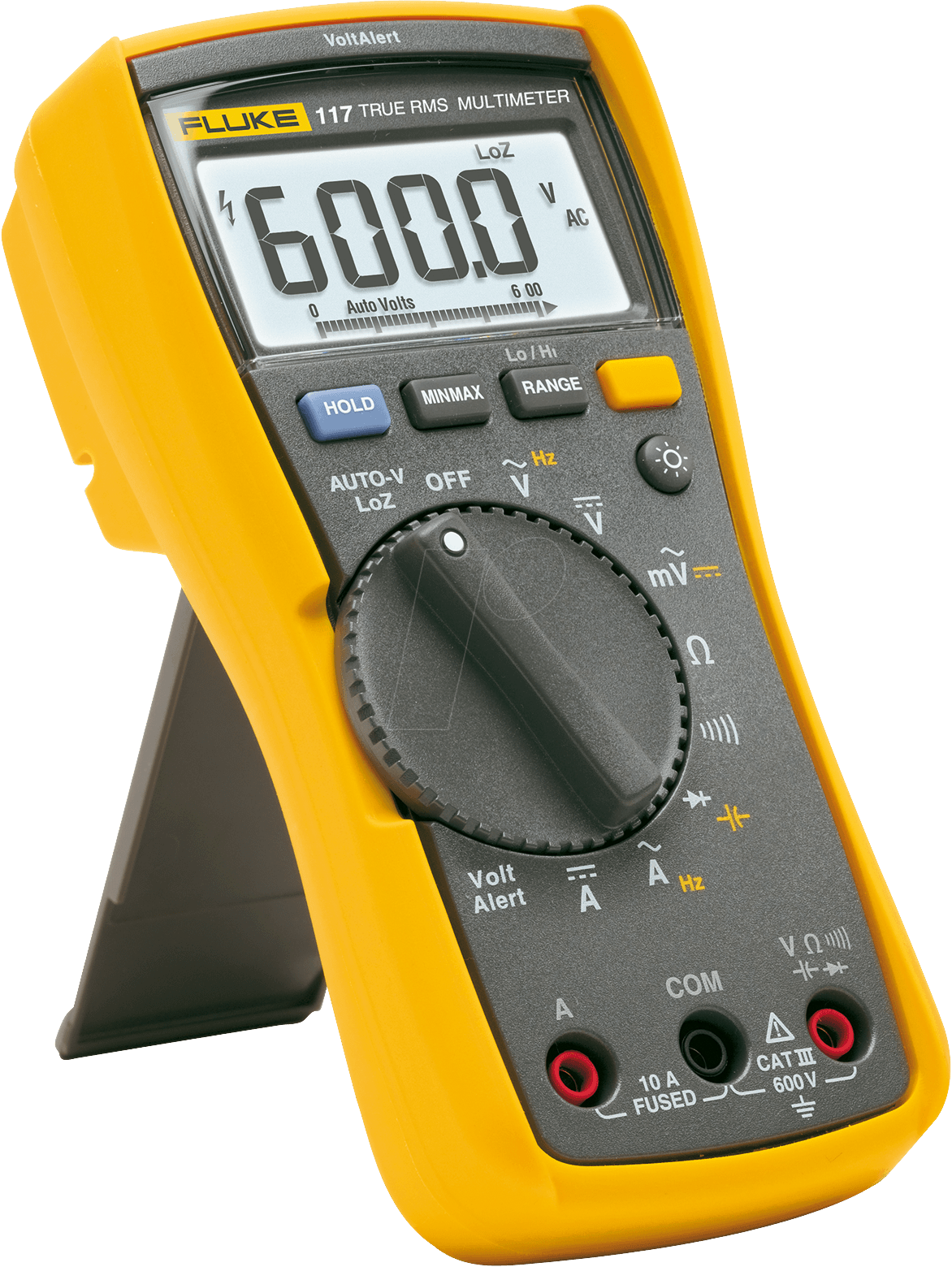 fluke 117 multimeter 117 digital 6000 counts trms bei reichelt elektronik. Black Bedroom Furniture Sets. Home Design Ideas